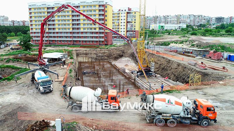 Заливка бетоном цена москва производство бетона москвы